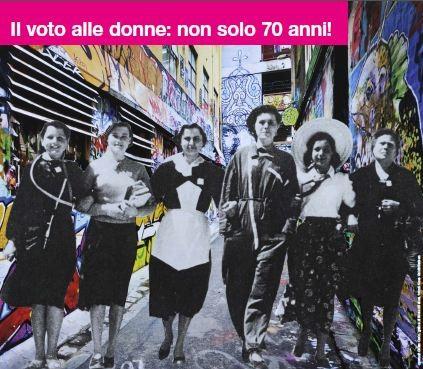 Suffragette italiane verso la cittadinanza (1861-1946). Mostra storica